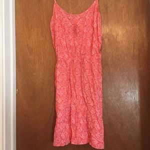 Old Navy Coral print Dress